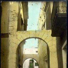 Postales: FOTOGRAFICA - CUEVAS DE VINROMA (CASTELLON) - CALLE DEL PORTALET - COLOREADA. Lote 24046777