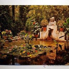 Postales: ALICANTE. ELCHE. HUERTO DEL CURA. EL TOCADOR DE LA DAMA DE ELCHE.. Lote 19232839