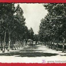 Postales: UTIEL, VALENCIA, PASEO DE LAS DELICIAS, P39553. Lote 19541063