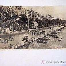 Postales: POSTAL DE ALICANTE (EXPLANADA Y PUERTO) SIN CIRCULAR. Lote 19707232