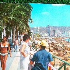 Postales: ALICANTE-BENIDORM-, ESCRITA -AÑOS 60. Lote 20616944