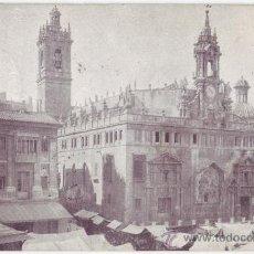 Postales: VALENCIA: IGLESIA DE LOS SANTOS JUANES. NO CONSTA EDITOR. REVERSO SIN DIVIDIR. CIRCULADA (C.1900). Lote 24804193