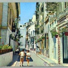 Postales: POSTAL ALICANTE BARRIO DE SANTA CRUZ CALLE TOLEDO 1971. Lote 58970530