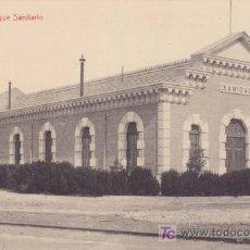 Postales: ALICANTE. PARQUE SANITARIO. BARCELONA: FOTOTIPIA THOMAS. Lote 20654436