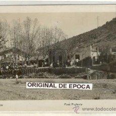 Postales: (PS-18532)POSTAL FOTOGRAFICA DE MONCADA-FONT PUDENTA. Lote 20770782