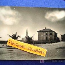 Postales: POSTAL ANTIGUA VINAROZ CASTELLÓN. GRUPO ESCOLAR. ED. COMERCIAL PRAT. . Lote 26610519