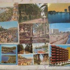 Postales: ALICANTE Y PROVINCIA - 37 POSTALES AÑOS 60-70. Lote 25849215