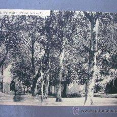 Postales: POSTAL DE BUÑOL (VALENCIA) - PASEO DE SAN LUIS, 3ª EDICION DEL AYUNTAMIENTO, 1923 (SIN CIRCULAR). Lote 21197240