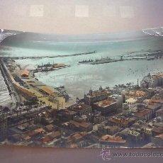 Postales: ANTIGUA POSTAL PUERTO Y VISTA PARCIAL ALICANTE 1961. Lote 21204029