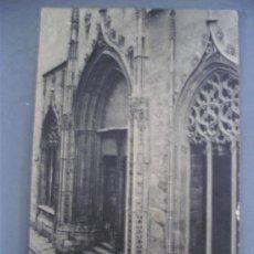 Postales: POSTAL VALENCIA - 86 - PUERTA POSTERIOR DE LA LONJA (FOTOTIPIA THOMAS, SIN CIRCULAR). Lote 21217420