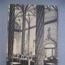 Postales: POSTAL VALENCIA - 91 - LONJA. SALON COLUMNARIO (FOTOTIPIA THOMAS, SIN CIRCULAR). Lote 29439575