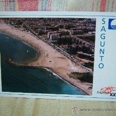 Postales: SAGUNTO PLAYA PUERTO DE SAGUNTO VISTA GENERAL. Lote 21265584