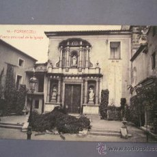 Postales: POSTAL DE PORTACOELI -14- PUERTA PRINCIPAL DE LA IGLESIA (FOTOTIPIA THOMAS, SIN CIRCULAR). Lote 21286026