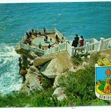Postales - Postal Benidorm Plazoleta del Castillo Hnos Galiana 1974 sin circular - 21413312