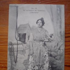 Postales: 1907 - EN LA HUERTA DE VALENCIA: LLAURAORA - COLECCIÓN E. BORT - TARJETA POSTAL CIRCULADA . Lote 27184021