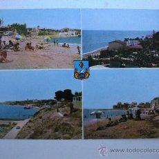Postales: POSTAL DE VILLAJOYOSA -Nº1- VISTAS DE LA VILLA (ESCRITA 1962, SIN CIRCULAR). Lote 22233788