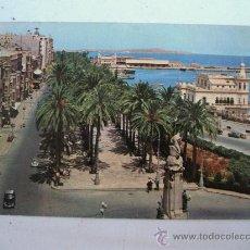 Postales: POSTAL DE ALICANTE -Nº33-MONUMENTO A CANALEJAS Y EXPLANADA DE ESPAÑA (CIRC AÑOS 70 APROX). Lote 22233920