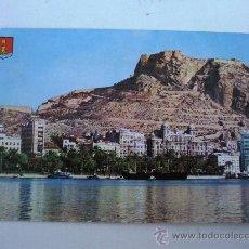 Postales: POSTAL DE ALICANTE -Nº102- VISTA PARCIAL (CIRCULADA 1967). Lote 22233950