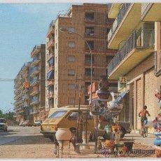 Postales: TARJETA POSTAL DE CAMPELLO AVDA. SAN BARTOLOME CERAMICA JARRA MACETA PLATO ALICANTE. Lote 22247885