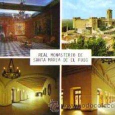 Postales: REAL MONASTERIO DE SANTA MARIA DEL PUIG (VALENCIA) - DIVERSOS ASPECTOS. Lote 99316527