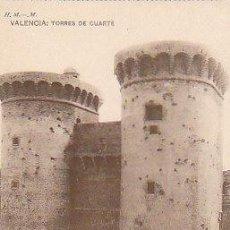 Postales: VALENCIA, TORRES DE CUARTE, EDITOR: HAUSER Y MENET SIN NÚMERO. Lote 22388109