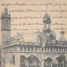 Postales: VALENCIA - IGLESIA DE LOS SANTOS JUANES, HAUSER Y MENET Nº 1041, ESCRITA EN 1904.. Lote 26697394