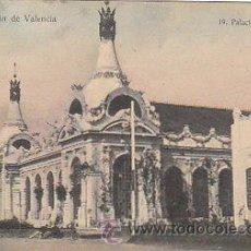 Postales: VALENCIA - EXPOSICIÓN. PALACIO DE FOMENTO. EDITADA POR J.D.P. Nº 19, SIN USAR. Lote 22388350