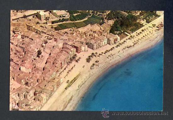 POSTAL DE VILA JOIOSA (ALACANT): VISTA AÈRIA (ED.VALICAR NUM.1161) (Postales - España - Comunidad Valenciana Moderna (desde 1940))
