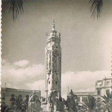 Postales: TARJETA POSTAL ESPAÑA MODERNA 1.940, Nº 19, ALICANTE, PLAZA DE LOS LUCEROS. Lote 22898682