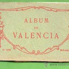 Postales: ALBUN DE VISTAS DE VALENCIA SERIE Nº 3 BIEN CONSEBACION VENTE VISTAS EDICION THOMAS BARCELONA . Lote 25763757