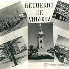 Postales: 7377 - RECUERDO DE VINAROZ - POSTAL DE CASTELLON - COMERCIAL PRAT - SIN CIRCULAR. Lote 26312799