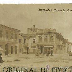 Postales: (PS-20735)POSTAL FOTOGRAFICA DE PATERNA-PLAZA DE LA CONSTITUCION. Lote 23435568
