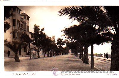 POSTAL VINAROZ PASEO MARITIMO (Postales - España - Comunidad Valenciana Moderna (desde 1940))