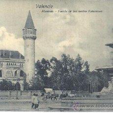 Postales: PS2700 VALENCIA 'ALAMEDA - FUENTE DE LAS CUATRO ESTACIONES'.DR. TRENKLER. CIRCULADA DICIEMBRE 1907. Lote 23587829
