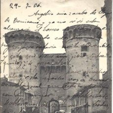 Postales: PS2701 VALENCIA 'TORRES DE CUARTE'. NÚM. 2. FOT. LACOSTE. CIRCULADA EN JULIO DE 1906. Lote 23588030