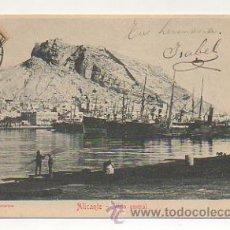 Postales: ALICANTE. VISTA GENERAL. (ED. JUAN MOSCA). REVERSO SIN DIVIDIR. . Lote 24111343