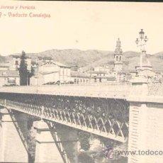 Postales: ALCOY (ALICANTE).- VIADUCTO DE CANALEJAS. Lote 24449452