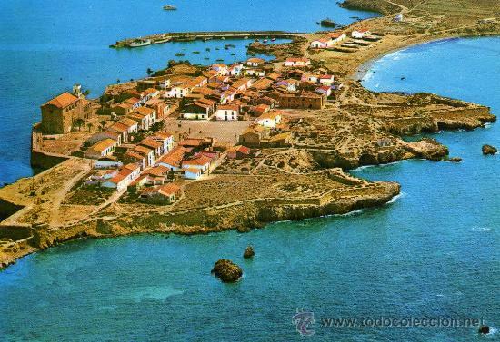 Isla de tabarca n 6945 alicante vista a rea c comprar postales de la comunidad valenciana en - Residencial isla tabarca ...