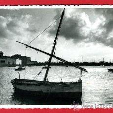 Postales: EL PERELLO, VALENCIA, VISTAS, BARCOS, FOTOGRAFICA, P49181. Lote 24498256