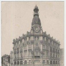 Postales: CASTELLÓN DE LA PLANA. BANCO DE CASTELLÓN. AÑOS 1910. CIRCULADA.. Lote 26801185
