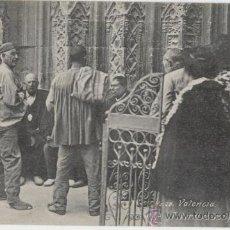 Postales: VALENCIA. TRIBUNAL DE LAS AGUAS. AÑOS 1910.. Lote 27283763