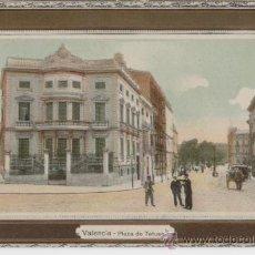 Postales: VALENCIA. PLAZA DE TETUÁN. AÑOS 1910. . Lote 27283767