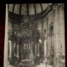 Postales: ANTIGUA POSTAL DE JATIVA - VALENCIA - ALTAR MAYOR DE LA SEO - ED. V. LOPEZ - NO CIRCULADA.. Lote 25039535