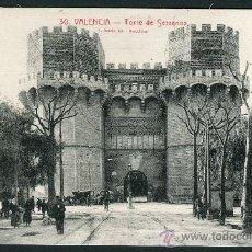 Postales: VALENCIA. TORRE DE SERRANOS. 30. L. ROISIN.. Lote 26535565