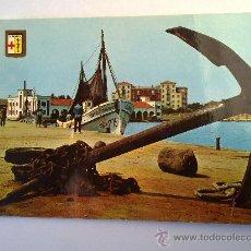 Postales: POSTAL BENICARLO VISTA PARCIAL DEL PUERTO. Lote 25307521