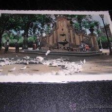 Postales - 15.- CARCAGENTE PLAZOLETA Y FUENTE DEL PARQUE,EDC. HUMBERTO,CIRCUL.1959.COLOREADA CON ANILINAS, - 25806480