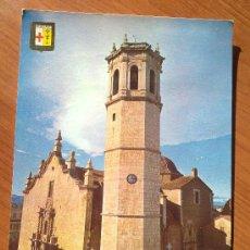 Postales: POSTAL DE BENICARLO IGLESIA PARROQUIAL. Lote 25844751