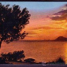 Postales: ALICANTE - PUESTA DE SOL. Lote 28276095