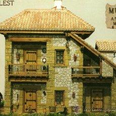 Postales: MUSEO DE ANTONIO MARCO CASTELL DE GUADALEST (ALICANTE) SIN CIRCULAR. Lote 26016351