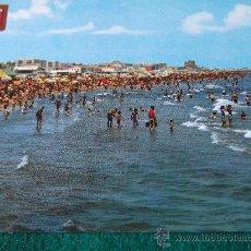 Postales: VALENCIA-PLAYA DE LEVANTE-LAS ARENAS-70'. Lote 26290573